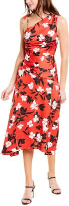 BCBGMAXAZRIA Floral Maxi Dress