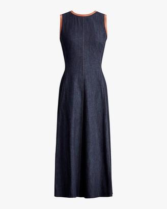 Ralph Lauren Collection Denim Pauline Dress