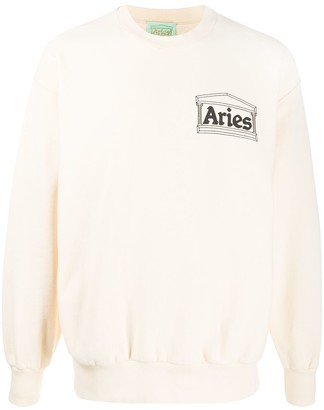 Aries Premium Temple cotton sweatshirt