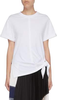 3.1 Phillip Lim Side tie split hem T-shirt