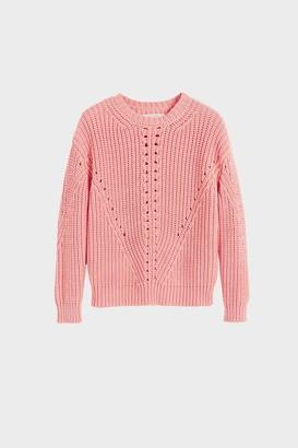 Parker Chinti & Pink Le Soir Crew Neck Sweater
