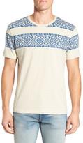 Lucky Brand Jacquard Crewneck T-Shirt
