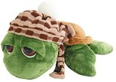 Suki Gifts Lil Peepers Turtle Rocky Turtle with Bobble Hat/ Scarf Soft Boa Plush Toy (Large, Green/ Brown) by Suki Gifts