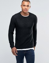 Brave Soul Ribbed Crew Nexk Sweater