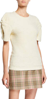 Maggie Marilyn Knotted Short-Sleeve Top