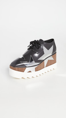 Stella McCartney Elyse Star Lace Up