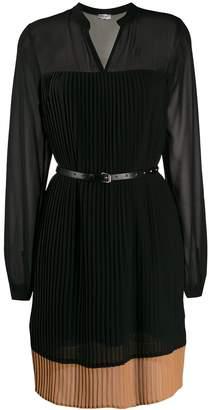 Liu Jo pleated detail dress