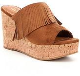 Ariat Leigh Fringe Wedge Sandals