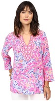 Lilly Pulitzer Renato Tunic Women's Blouse
