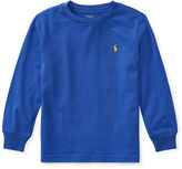 Ralph Lauren 2-7 Cotton Jersey Crewneck T-Shirt