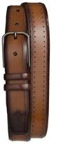 Mezlan 'Diver' Two-Tone Leather Belt