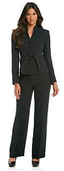 Le Suit Glazed Mélange Jacket Pant Suit