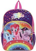 Asstd National Brand My Little Pony Rainbow Sequin Backpack - Girls 7-16