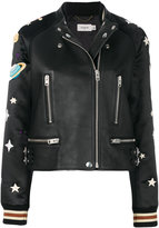 Coach solar system patch jacket