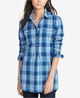 Lauren Ralph Lauren Plaid Tunic