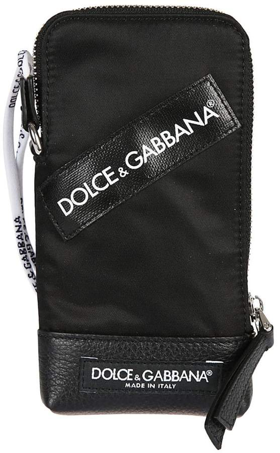 Dolce & Gabbana Logo Patch Mobile Case