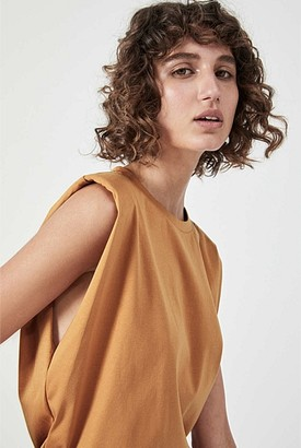 Witchery Shoulder Detail Muscle Tank