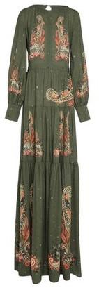 Black Coral Long dress