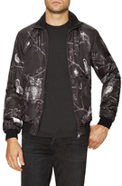 Dolce & Gabbana Printed Stand Collar Jacket
