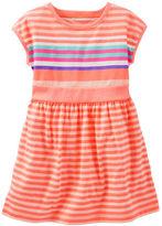 Osh Kosh Neon Striped Dress