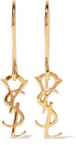 Saint Laurent Gold-plated Earrings - One size
