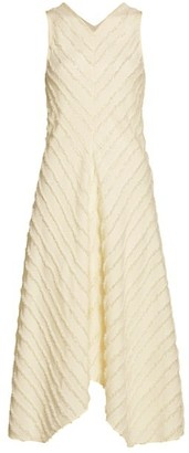 Proenza Schouler White Label Fringe Fil Coupe Dress