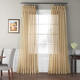 Eff EFF 1-Panel Signature Sheer Double-Wide Window Curtain