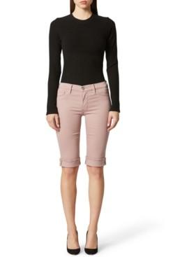 Hudson Amelia Cuffed Bermuda Shorts