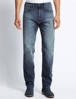 Marks and Spencer Tapered Fit Stretch Jeans