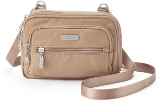 Baggallini Triple Zipper Convertible Crossbody Bag
