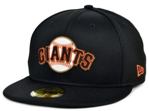 New Era Kids San Francisco Giants 2020 Clubhouse 59FIFTY-fitted Cap