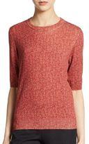 Dolce & Gabbana Herringbone Virgin Wool Top