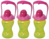 Evenflo Advanced Swing Handled Straw Cup - Orange/Yellow - 8 oz - 3 ct