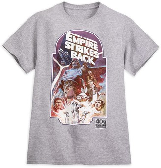 Disney Star Wars: The Empire Strikes Back Movie Poster Tee for Adults