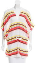 Lemlem Sheer Striped Tunic