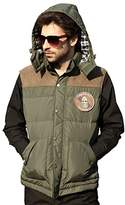 Seibertron Men's Fashion Design tactical Hooded Down Vest (M, )