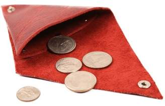 Monogramonline Custom Triangular Folded Leather Coin/Change Purse