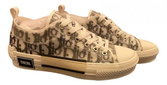 Christian Dior B23 Beige Cloth Trainers