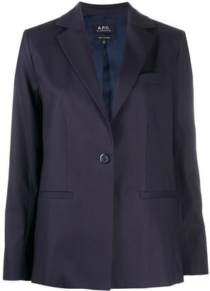 A.P.C. Classic Tailored Blazer