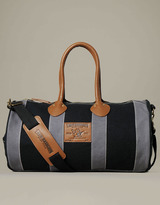 True Religion Hand Picked Canvas Duffle Bag