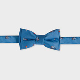 Paul Smith Baby Boys' Blue 'Bicycle-Jacquard' Bow Tie
