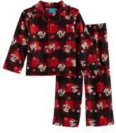 Disney Disney's Mickey Mouse Toddler Boy 2-pc.Checked Pajama Set