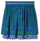 Stella McCartney blue sue paisley skirt