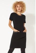 M&Co Roman Originals pearl embellished short sleeve dress