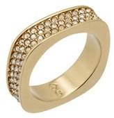 Swarovski Crystal Vio Plated Ring.