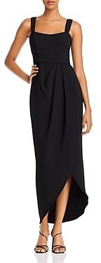 Avery G Aqua Double Strap Tulip Hem Dress - 100% Exclusive