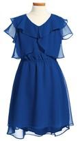 Blush by Us Angels Girl's Ruffle Dress