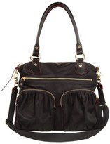 M Z Wallace 'Belle' Bedford Nylon Tote - Black