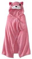 AME Sleepwear Girls 2-6X Cat Hooded Blanket