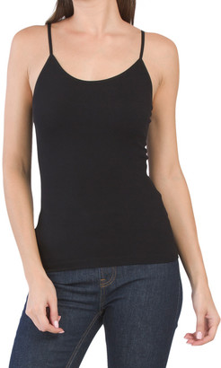 Juniors Seamless Ribbed Camisole